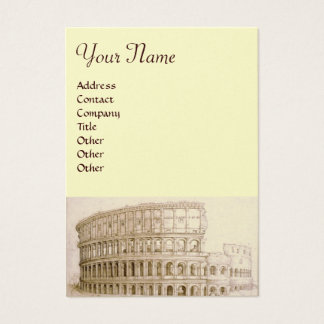 COLOSSEUM /Antique Architecture,Architect Pearl Business Card