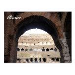 colosseum arch postcard