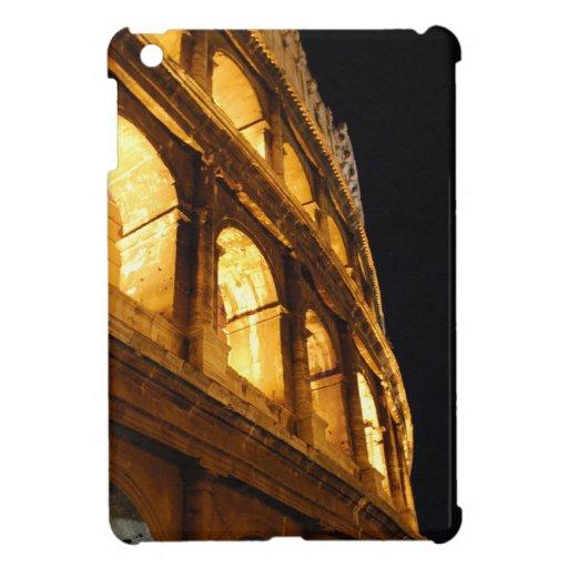 Colosseum at night iPad mini covers