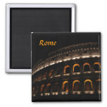 Colosseum at night magnet