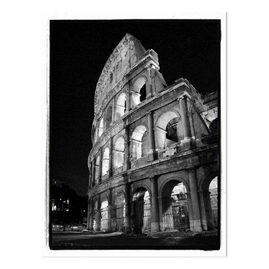 Colosseum at Night Postcard