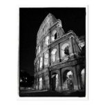 Colosseum at Night Postcard Post Card