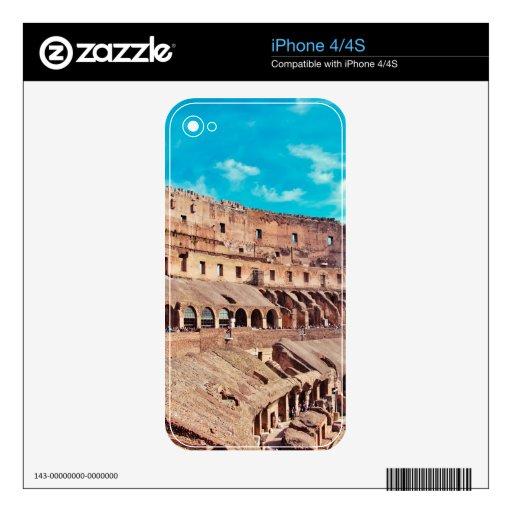 Colosseum Calcomanías Para El iPhone 4