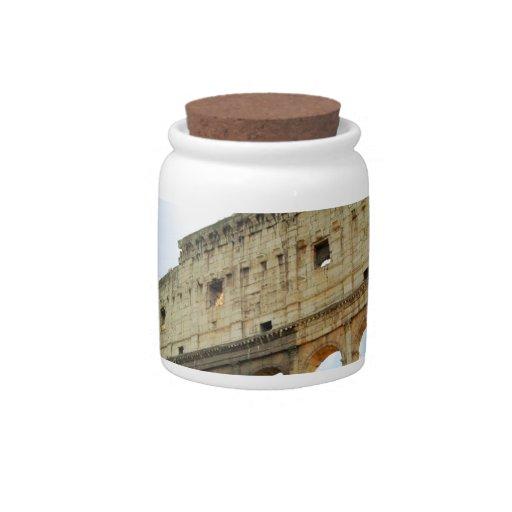Colosseum Candy Jar
