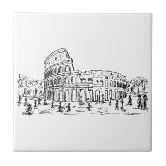 colosseum de Roma Teja