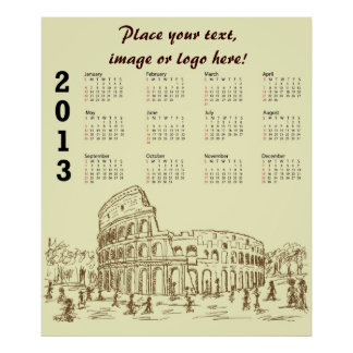 colosseum de Roma Póster