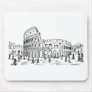 colosseum de Roma Alfombrillas De Ratón