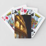 Colosseum en la noche barajas de cartas
