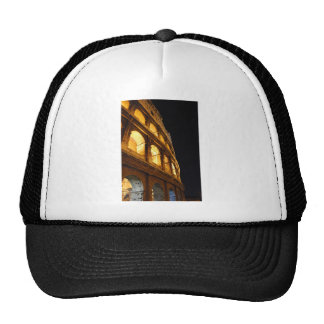 Colosseum en la noche gorra