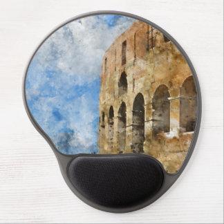 Colosseum en Roma, Italia Alfombrilla De Ratón Con Gel
