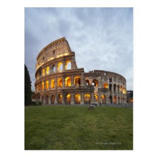 Colosseum en Roma, Italia Tarjetas Postales