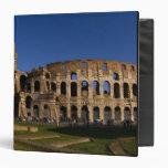 """Colosseum famoso en la señal 2 de Roma Italia Carpeta 1 1/2"""""""