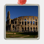 Colosseum famoso en la señal 2 de Roma Italia Adorno
