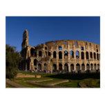 Colosseum famoso en la señal 2 de Roma Italia Postal