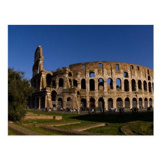 Colosseum famoso en la señal 2 de Roma Italia Postales