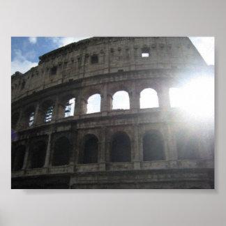 Colosseum (Flavian Amphitheatre), Rome, Italy Poster
