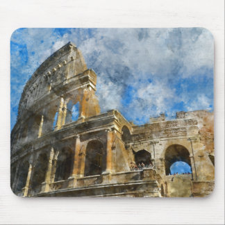 Colosseum in Ancient Rome Italy Mouse Pad