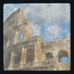"Colosseum in Ancient Rome Italy Stone Coaster<br><div class=""desc"">Colosseum in Rome,  Italy</div>"