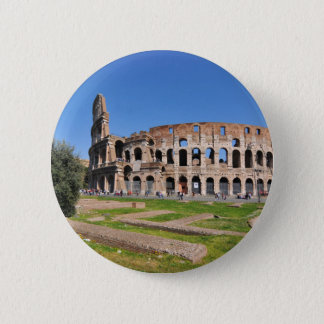 Colosseum in Rome, Italy Button