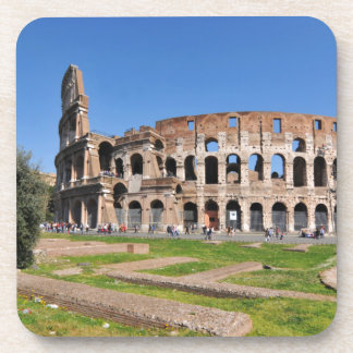 Colosseum in Rome, Italy Drink Coaster