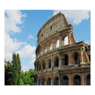Colosseum in Rome, Italy Posters
