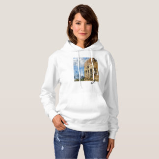 Colosseum in Rome Italy Watercolor Hoodie