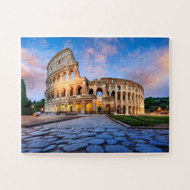 Colosseum In Rome Jigsaw Puzzle