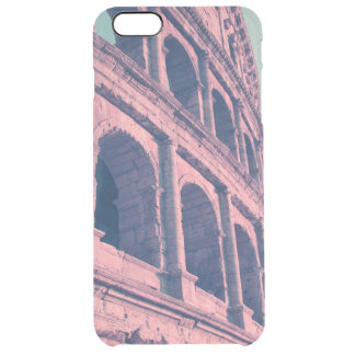 Colosseum in Rome. Monumental 3-tiered Roman Clear iPhone 6 Plus Case