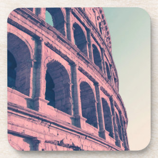 Colosseum in Rome. Monumental 3-tiered Roman Coaster