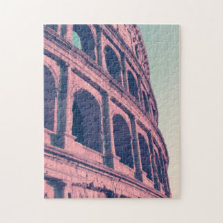 Colosseum in Rome. Monumental 3-tiered Roman Jigsaw Puzzle