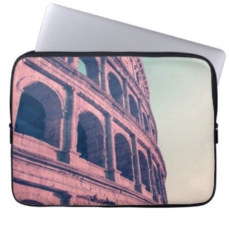Colosseum in Rome. Monumental 3-tiered Roman Laptop Sleeve