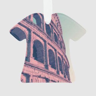 Colosseum in Rome. Monumental 3-tiered Roman Ornament