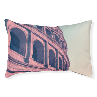 Colosseum in Rome. Monumental 3-tiered Roman Pet Bed