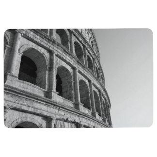 Colosseum in Rome. Monumental Roman amphitheater Floor Mat