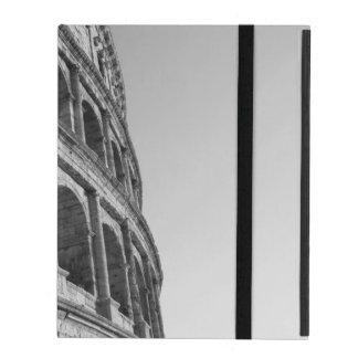 Colosseum in Rome. Monumental Roman amphitheater iPad Case