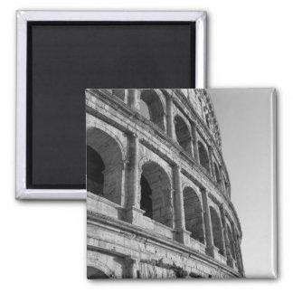 Colosseum in Rome. Monumental Roman amphitheater Magnet