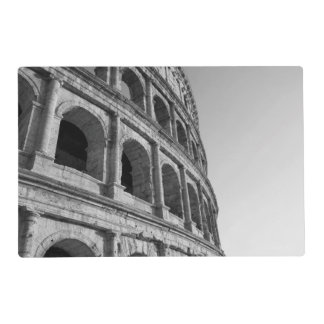 Colosseum in Rome. Monumental Roman amphitheater Placemat