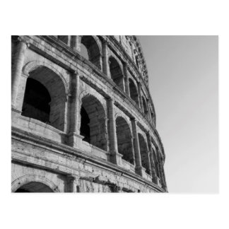 Colosseum in Rome. Monumental Roman amphitheater Postcard