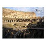 colosseum inside post card