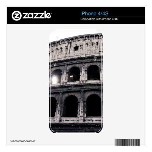Colosseum iPhone 4 Calcomanía