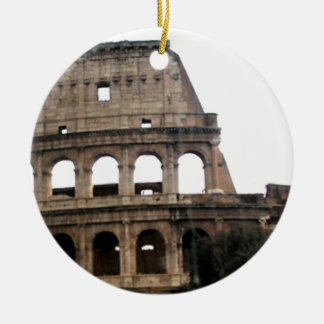 Colosseum Italian Travel Photo Ceramic Ornament