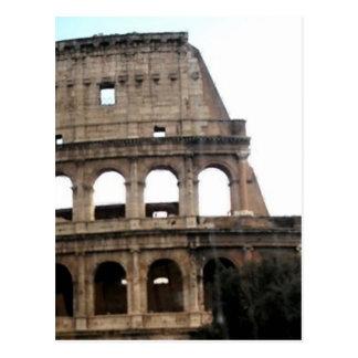 Colosseum Italian Travel Photo Postcard