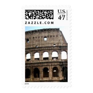 Colosseum Italian Travel Photo Stamp