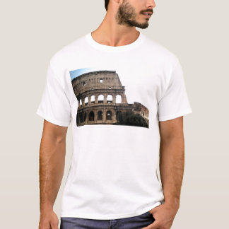 Colosseum Italian Travel Photo T-Shirt