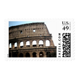 Colosseum Italian Travel Photography Stamp