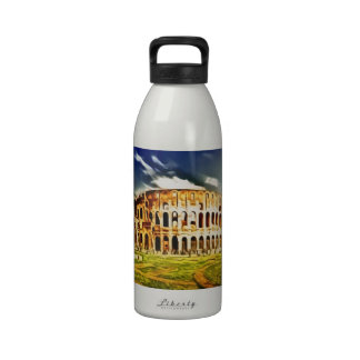 Colosseum, Italy Water Bottle