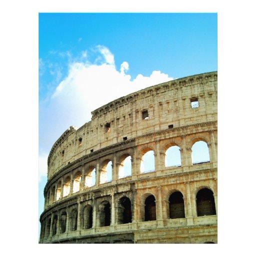 Colosseum Membrete Personalizado