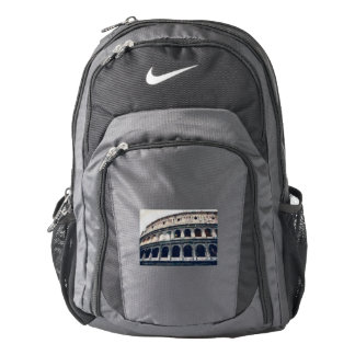 Colosseum painting, Rome Backpack
