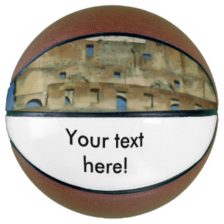 Colosseum painting, Rome Basketball