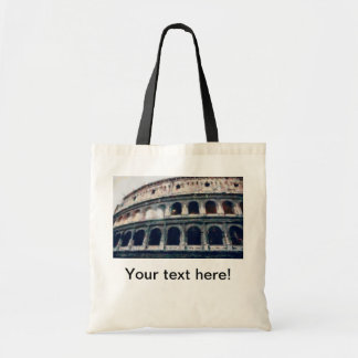 Colosseum painting, Rome Budget Tote Bag